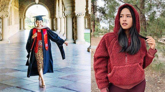Intip Penampilan Maudy Ayunda Lulus dari Kampus Terbaik Dunia, Stanford University Kenakan Kebaya