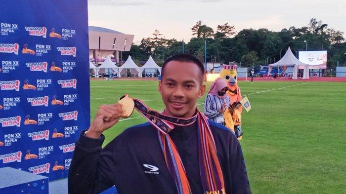 Cerita Sapwaturrahman Sumbang 2 Emas untuk NTB Meski Baru Sembuh dari Cedera