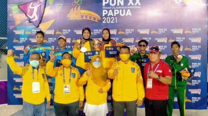 PON XX Papua: Voli Pasir Putri NTB Raih Medali Emas, Lari Gawang Sumbang Perunggu
