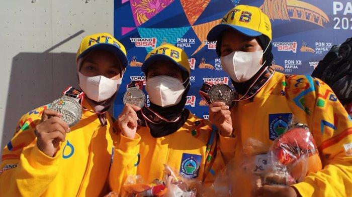 Cabor Panjat Tebing Sumbang 2 Emas dan 1 Perak bagi NTB, Pelatih: Pembuktian yang Luar Biasa