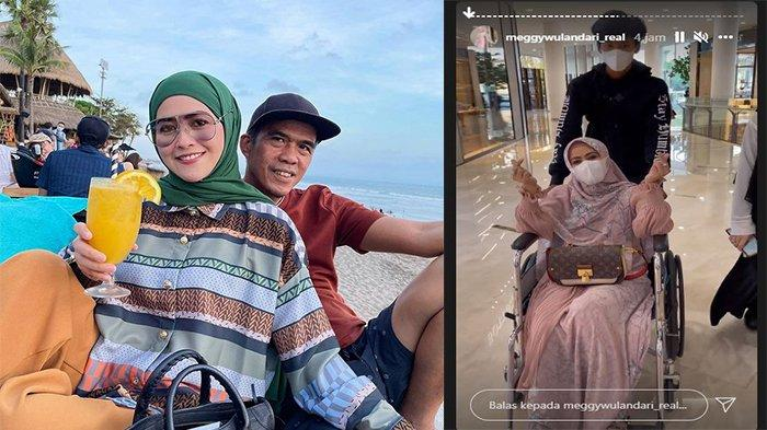 Meggy Wulandari Baru Saja Umumkan Hamil, Kini Mantan Istri Kiwil Gunakan Kursi Roda karena Keguguran