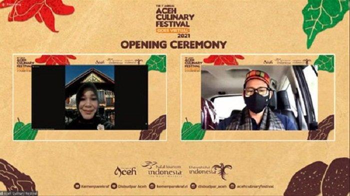 Kemenparekraf Ajak Masyarakat Mengenal Kuliner Khas Aceh lewat Aceh Culinary Festival