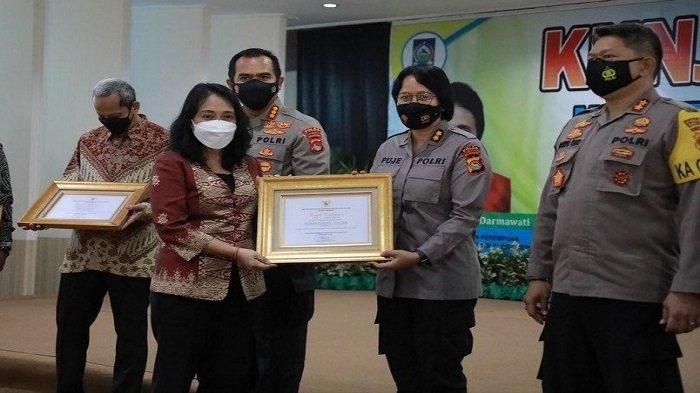 Ungkap Kasus Kekerasan Seksual pada Anak, Polda NTB Sabet Penghargaan Menteri PPPA