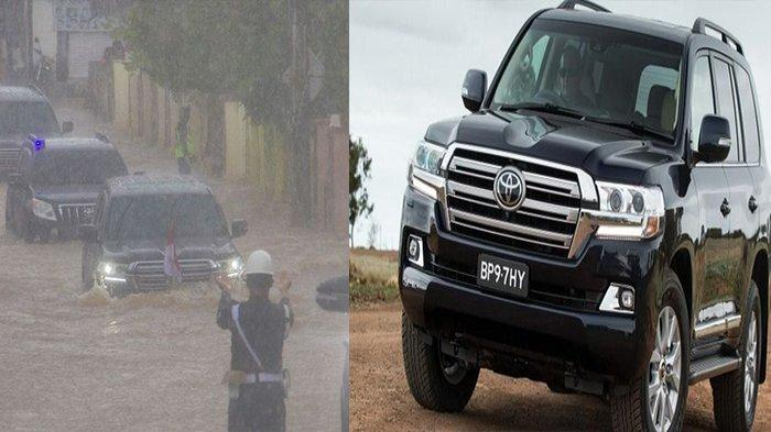 Mobil Dinas Jokowi Mampu Terobos Banjir di Kalsel Ternyata Gunakan Land Cruiser, Berapa Harganya?