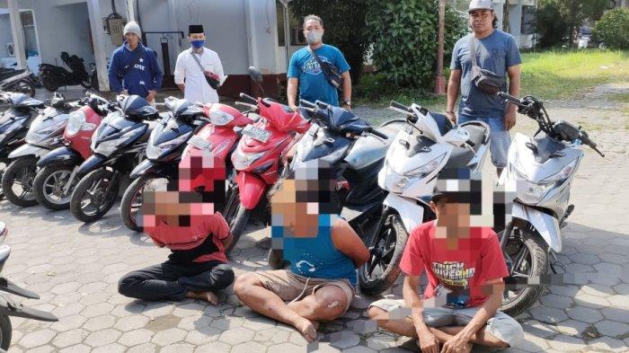 10 Motor Curian Hendak Dibawa ke Sumbawa Dicegat Polres Lombok Tengah