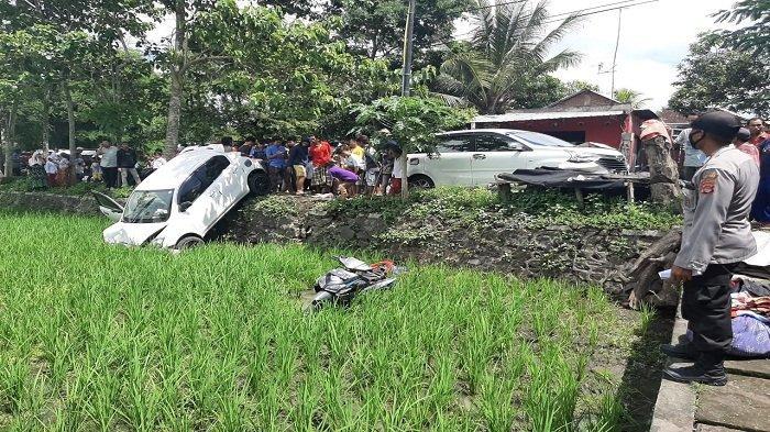Ibu di Dusun Serewe Lombok Tengah Tewas Diseruduk Mobil setelah Terpental ke Sawah