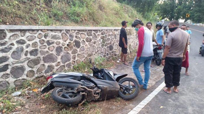 Warga Kediri Lombok Barat Kritis setelah Kecelakaan Tunggal di Pemenang