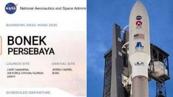 Nama Bonek Persebaya Surabaya Ikut Penerbangan NASA ke Planet Mars, Ternyata Ini Sosok di Baliknya