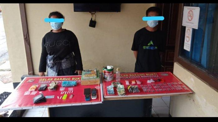 Pria dan Wanita di Dompu Terciduk dalam Kamar saat Transaksi Narkoba