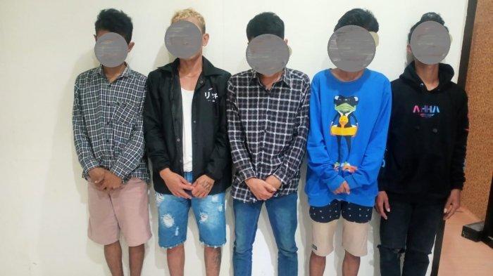 Enam Pemuda Sumbawa Diringkus Polisi saat Pesta Narkoba