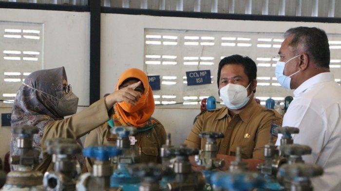 Wakil Gubernur NTB Minta Pendistribusian Oksigen ke RS Dilakukan Secara Merata