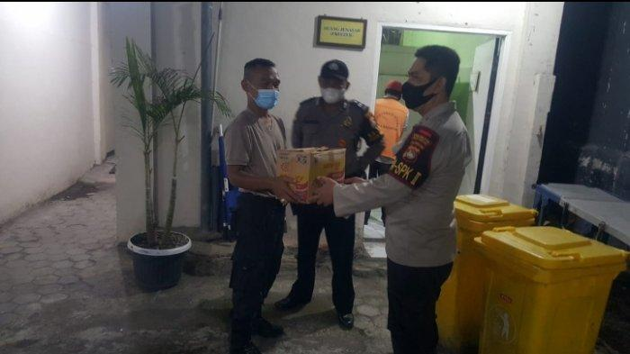 OROK BAYI: Penemuan orok bayi di Kelurahan Jempong Baru, Kota Mataram hebohkan warga, Rabu (14/4/2021) malam.