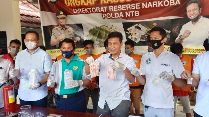 Polda NTB Bongkar Pabrik Sabu di Rumah Seorang 'Ustaz' Kawasan Lombok Timur