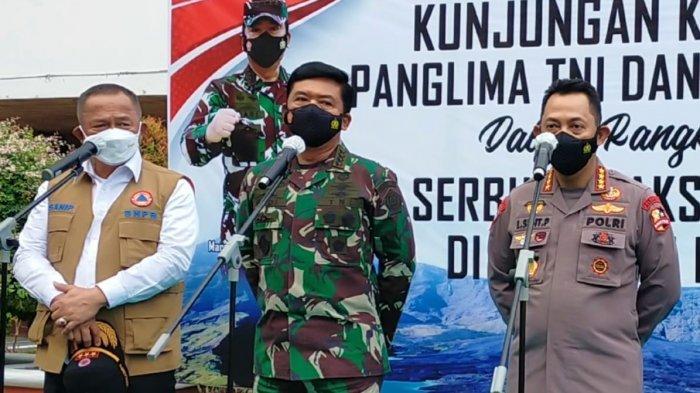 NTB Berhasil Turunkan Level PPKM, Panglima TNI: Kita Jangan Lengah!