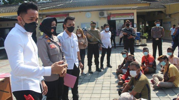103 Jukir Liar Terjaring Operasi Premanisme, Polresta Mataram Dorong Pemerintah Berikan Izin