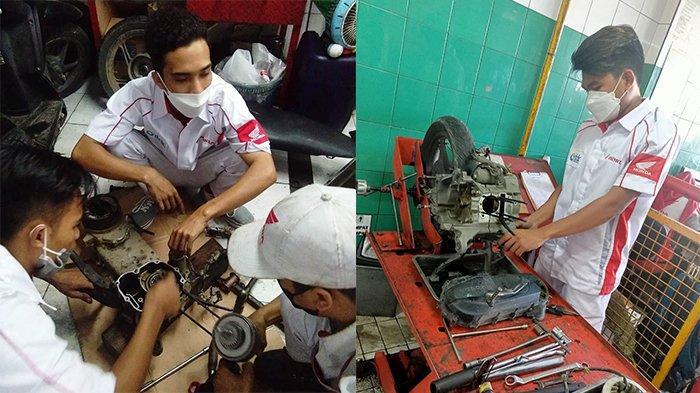 Serba-serbi MotoGP Mandalika, ITDC Magangkan 12 Pemuda Desa di Dealer Honda