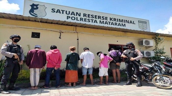 Judi Balap Liar dan Lomba Lari Dibubarkan Polisi, 14 Orang Pemuda Ditangkap