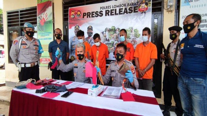 Dua Warga Lombok Tengah Terciduk Bawa Senjata Api, Ternyata Sindikat Pencuri Ternak