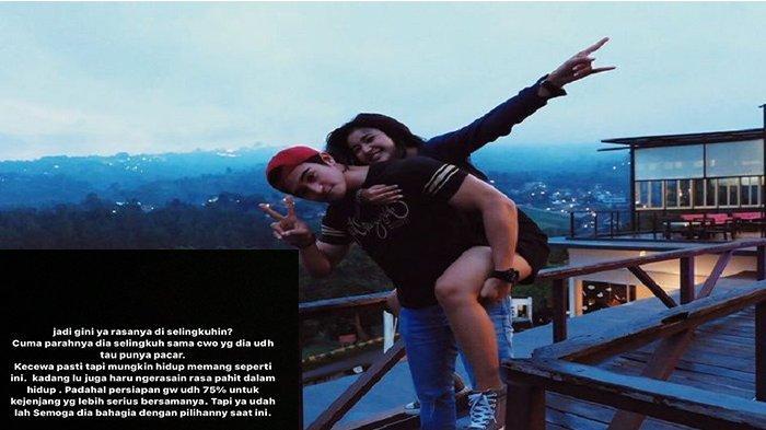 Pasangan artis FTV Adhitya Alkatiri dan Adinda Azani