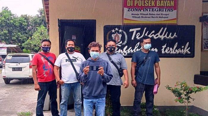 Video Call Syur Berujung Cabul,  Pemuda  Asal Gegurik Diringkus Tim Puma Polres Lombok Utara