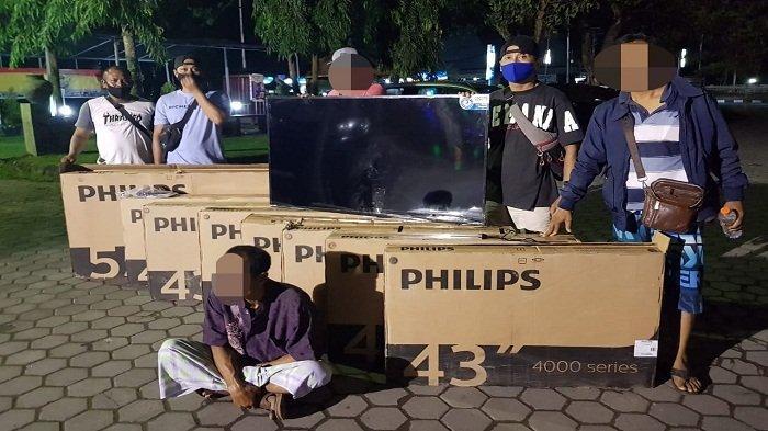 Tukang Bangunan di Lombok Tengah Curi 11 Unit TV Milik Hotel Raja Kasa Baio