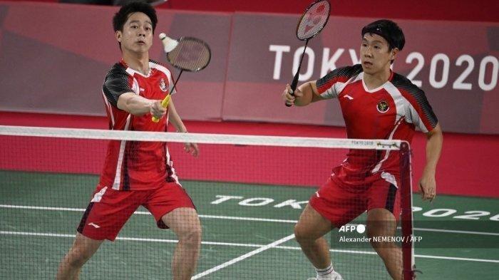 Hasil Bulutangkis Olimpiade Tokyo - Marcus/Kevin Disingkirkan Wakil Malaysia