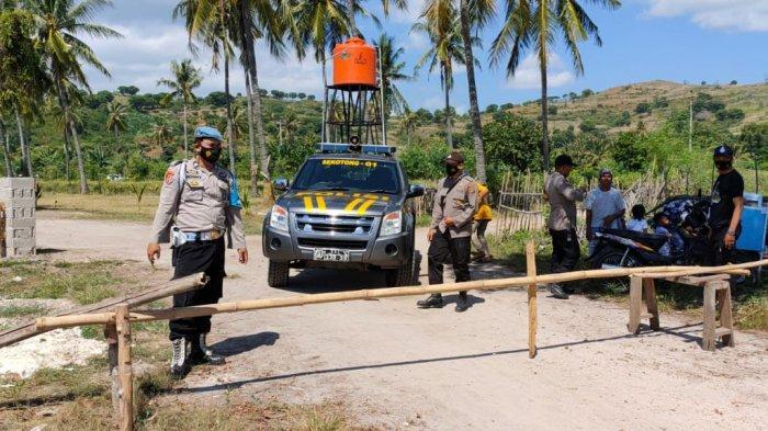 Cegah Covid-19, Masuk Makam Wajib Terapkan Protokol Kesehatan di Sekotong