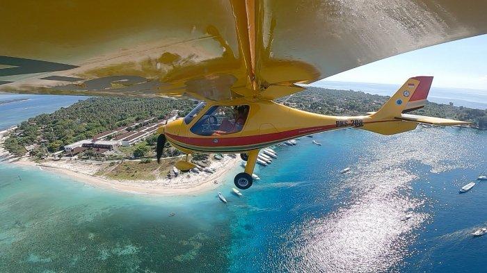 Siaga Khusus Libur Lebaran, SAR MataramTerbangkan Pesawat Pantau Wisatawan