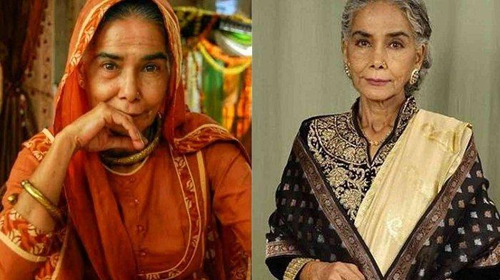 Pemeran Nenek Kalyani di Drama Andhini ANTV Meninggal Dunia, Surekha Sikri Alami Stroke Sejak 2020
