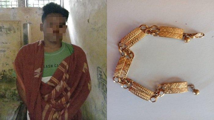 Pemuda Bima Curi Emas Tetangga, Terungkap setelah Emas Digadai