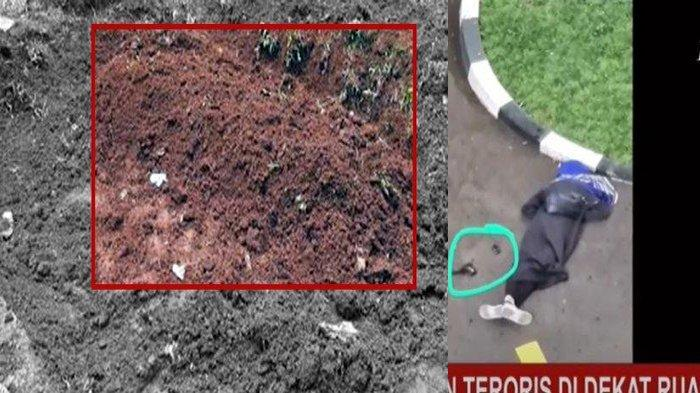 Inilah Penampakan Makam Pelaku Penyerang Mabes Polri, Tak Ada Bunga dan Nisan Hanya Gundukan Tanah