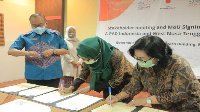 Waspadai Potensi Bencana di Daerah Wisata, Pemprov NTB Gandeng A-PAD Indonesia