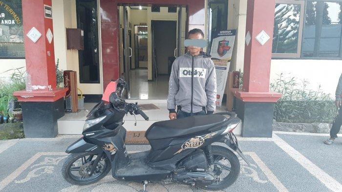 Pemuda Lingsar Curi Motor Keluarga Sendiri, Kini Terancam 7 Tahun Penjara