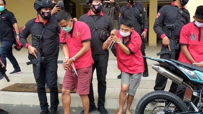 Komplotan Pencuri Palembang Beraksi di Lombok, Modal Beli Motor Rp 16 Juta, Curi Uang Rp 4 Juta