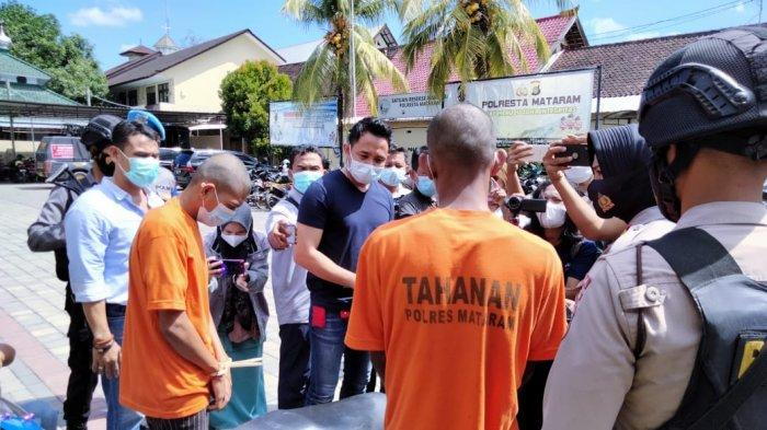 Curi Motor Marbot Musala, Dua Pemuda Diringkus Tim Puma Polresta Mataram