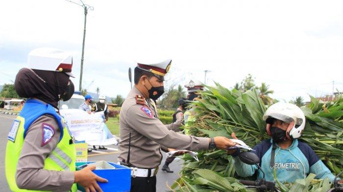 Razia Lalu Lintas Dimulai, Polres Lombok Barat Tidak Tilang Pengendara
