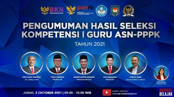 Link Pengumuman PPPK Guru 2021 Tahap 1, Masih Ada Kesempatan bagi yang Belum Lulus