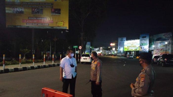 Empat Ruas Jalan di Kota Mataram Ditutup Selama PPKM Darurat