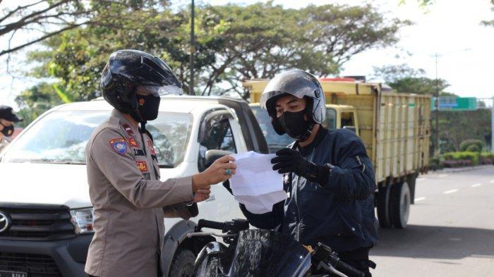 Tidak Ingin Naik Status Jadi PPKM Darurat, Polres Lombok Barat Gencarkan Penyekatan