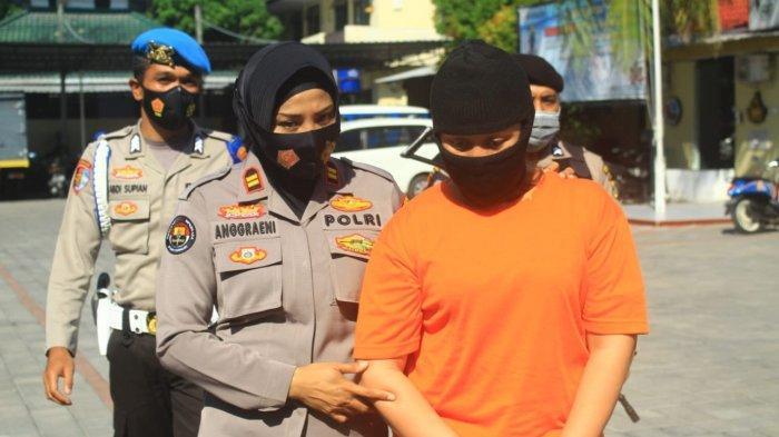 Polresta Mataram Bongkar Sindikat Narkoba, Seorang Emak-emak Ikut Ditangkap