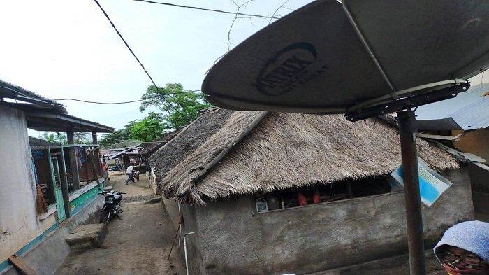 PERMUKIMAN: Permukiman masyarakat komunitas WetuTelu, di Desa Karang Bajo, Kecamatan Bayan, Lombok Utara, Minggu (18//4/2021)