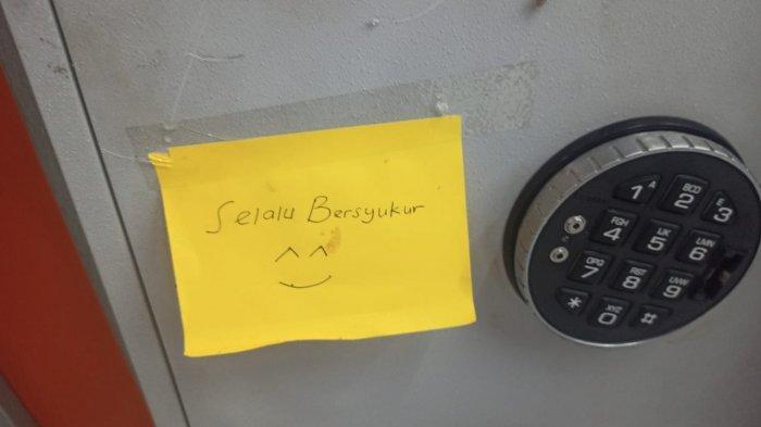 Seusai Bobol Brankas dan ATM, Komplotan Pencuri di Lombok Barat Tenggalkan Pesan 'Selalu Bersyukur'