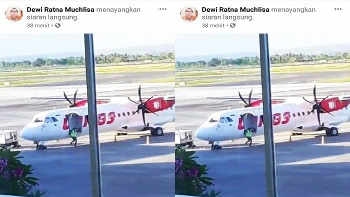 Pesawat Wings Air Putar Balik setelah Terbang 20 Menit, Ini Penjelasan Pihak Bandara Lombok