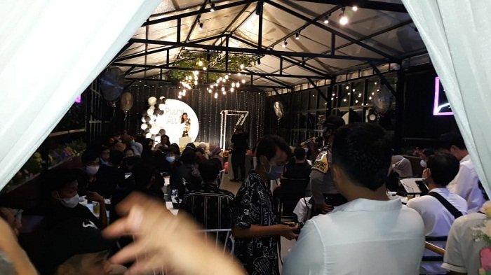 Tidak Taat Prokes, Pesta Ulang Tahun di Kafe Jalan Hasanuddin Dibubarkan Polres Sumbawa