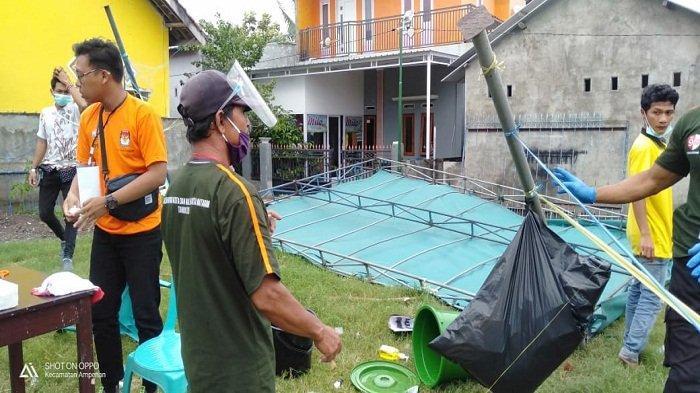 Diterjang Angin Kencang, 3 TPS di Provinsi NTB Ambruk