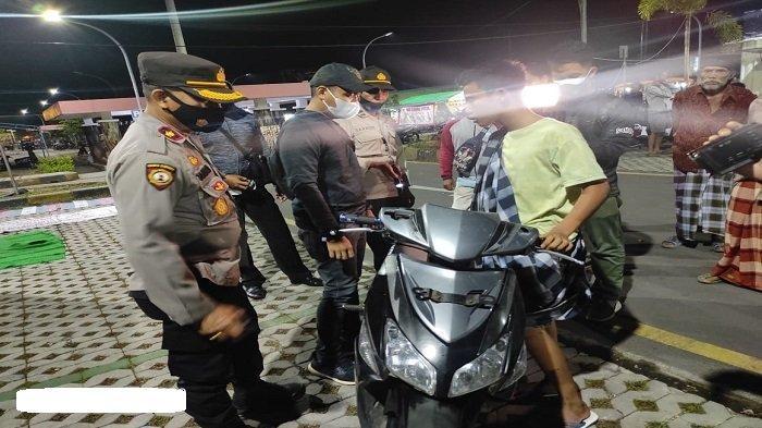 Enam Motor Diangkut Polres Lombok Tengahsaat Patroli Ramadhan