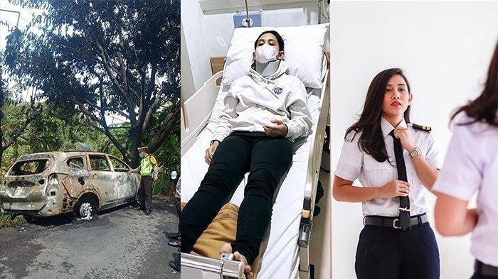 Pilot Athira Farina Alami Kecelakaan, Mobil Hangus Terbakar dan Baru Ketahuan Positif Covid-19