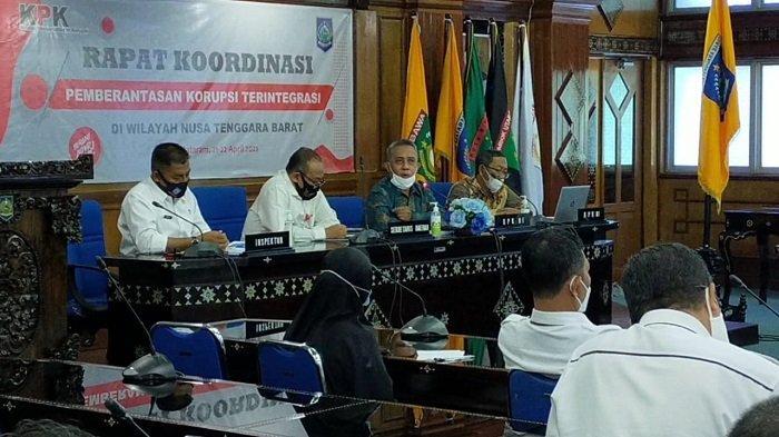 Cegah Korupsi, Gubernur NTB Minta Jajaran Rajin Konsultasi ke KPK