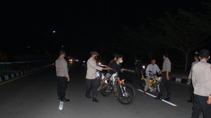 Nekat Takbir Keliling, Sejumlah Kendaraan Diamankan Polres Lombok Barat