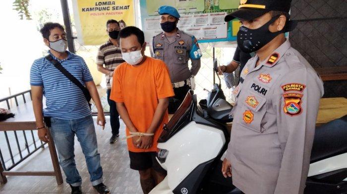 Terbelit Utang setelah Keluar Penjara, Residivis di Mataram Kembali Mencuri Motor